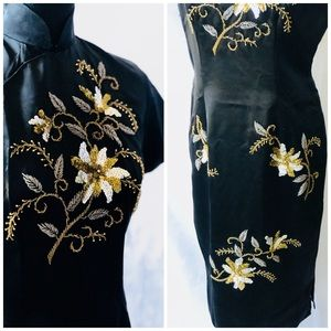 Dresses & Skirts - Black Traditional Chinese Dress